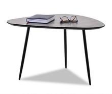 Stolik kawowy ROSIN XL - beton/czarny