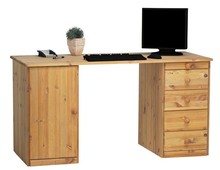 Biurko HOME OFFICE 1D4S STEENS sosna olejowana