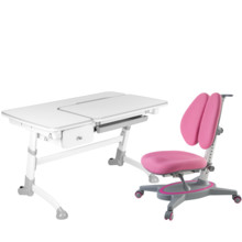 Amare Grey with Drawer + Primavera II Pink