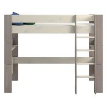 Łóżko piętrowe pojedyncze STEENS FOR KIDS - sosna bielona/ stone