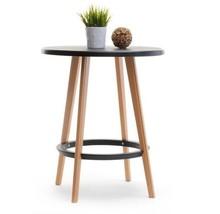 Stół do ogrodu CAPRI 60 - czarny