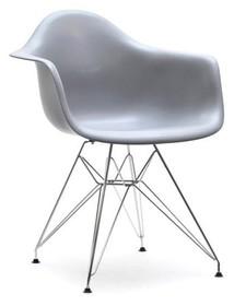 Krzesło ogrodowe MPA ROD - szary/metal