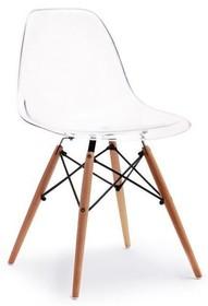 Krzesło ogrodowe MPC WOOD - transparentny