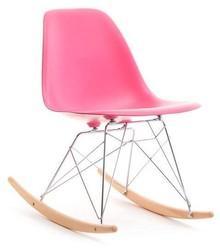 Krzesło bujane MPC ROC - różowy
