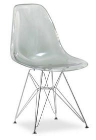 Krzesło ogrodowe MPC ROD - dymiony