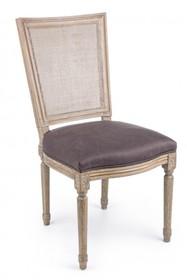 Krzesło LILIANE - brązowy