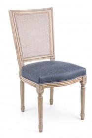 Krzesło LILIANE - granatowy