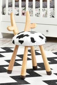 Krzesełko dziecięce KRÓWKA - buk