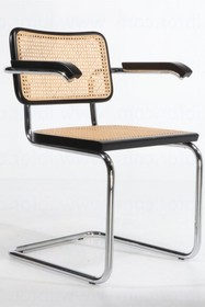 Krzesło na płozie z podłokietnikami CESCA REPLIKA
