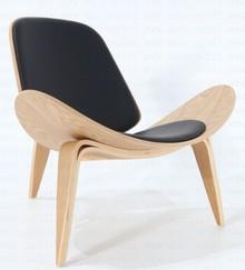 Fotel z giętym siedziskiem POLRONA SCANDINAVIA