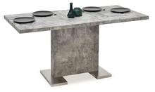 Stół rozkładany DANTE 120-160x80 - beton