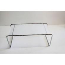 Duży stolik szklany TEPON - transparentny