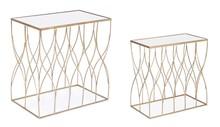 Zestaw 2 stolików ELENOR 30.5x51