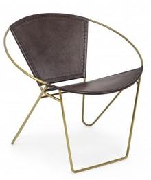 Krzesło SANPARK GOLD - brązowy