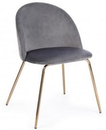 Krzesło TANYA DARK GREY - ciemny szary