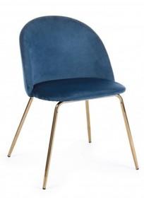 Krzesło TANYA - niebieski