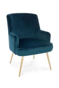 Fotel CLELIA - turkusowy