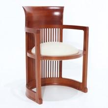 Drewniane krzesło z podłokietnikami TABENI
