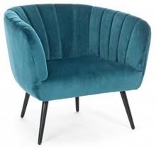 Fotel AVRIL - turkusowy