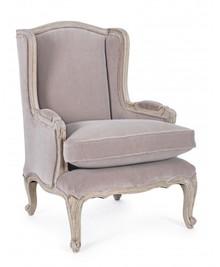 Fotel LORELIE - pudrowy róż