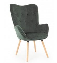 Fotel JULIET - zielony