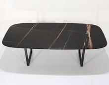 Stół z marmurowym blatem CRO