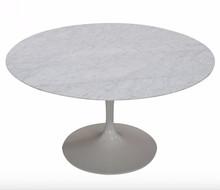 Stół z marmurowym blatem TULIA - Carrara