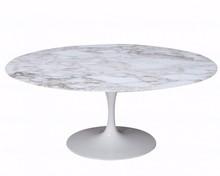 Stół z marmurowym blatem TULIA - Calacatta Oro
