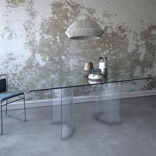 Szklany stół TOGIO