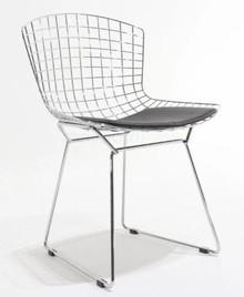 Krzesło metalowe na płozach BERTOIA