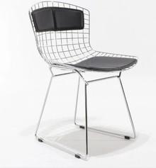 Krzesło metalowe BERTOIA CON SPALLIERA