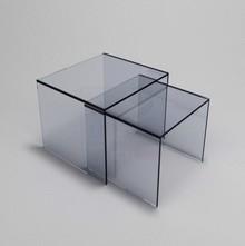 Zestaw małych stolików szklanych TEPON