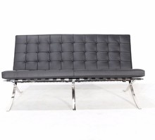 Pikowana sofa bez boków BARCELLONA