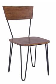Krzesło EDGAR - brązowy
