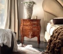 Szafka nocna w stylu florenckim - orzech włoski