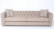 Sofa tapicerowana z pikowaniem STONWI
