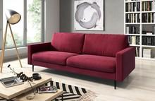 Sofa Bella 3-osobowa czerwona
