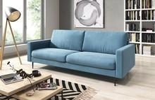 Sofa Bella 3-osobowa błękitny