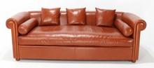 Sofa tapicerowana z podłokietnikami ALFRED