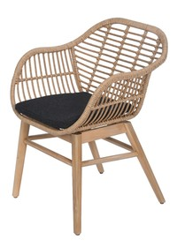 Krzesło obiadowe Breeze 60x60x84 cm
