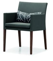 Krzesło Lima z 2 poduszkami 54x62x83 cm