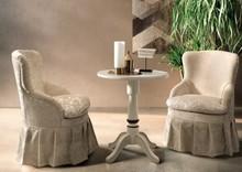 Tapicerowany elegancki fotel lady do salonu