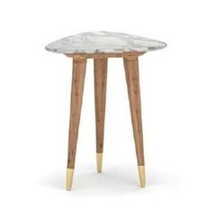 Stolik kawowy marmurowy coco do salonu, sypialni