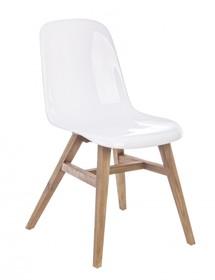 Krzesło LUCIDA - biały