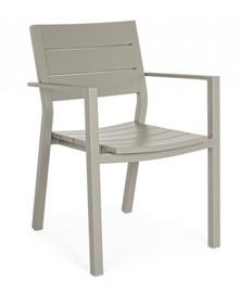 Krzesło ogrodowe SHARK - szary