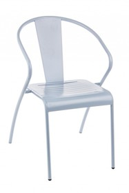 Krzesło ogrodowe ANNENCY NEBBIA - szary