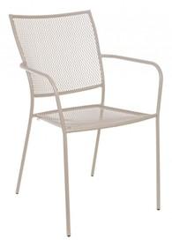Krzesło ogrodowe KRISTEN - beżowy