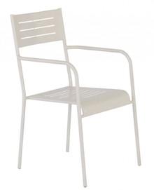 Krzesło ogrodowe MEDEA z podłokietnikami