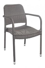 Krzesło ogrodowe STUART z podłokietnikami