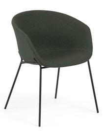 Krzesło kubełkowe DINE - zielony